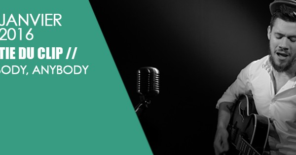 "Sortie du clip ""Everybody, Anybody"""
